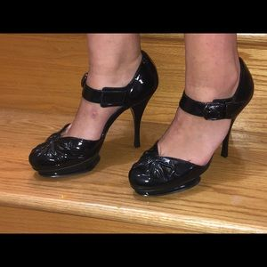 Beautiful Black Patent Leather Heels